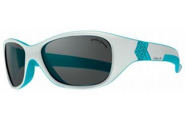 Julbo Solan Kids Sunglasses, Grey/Blue w/ Polarized Kids Lenses 3909220