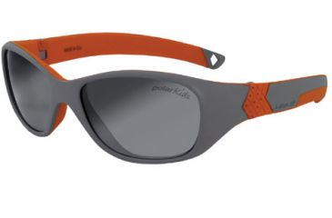 Julbo Solan Rx Sunglasses - Grey/Orange Frame, Polar Kids Ages 4-6 3909221