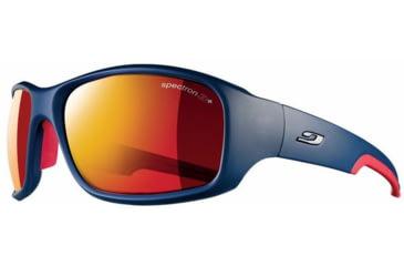 Julbo Stunt Sunglasses, Blue/Red w/ Spectron 3+ Lenses 4381132