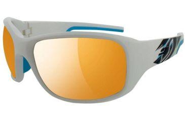 Julbo Stunt Sunglasses White/Red Frame w/ Spectron 3 Lenses 4381111