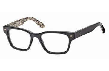 Just Cavalli JC0368 Eyeglass Frames - Shiny Black Frame Color