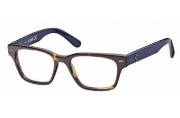 Just Cavalli JC0368 Eyeglass Frames - Dark Havana Frame Color