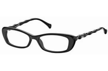 Just Cavalli JC0376 Eyeglass Frames - Shiny Black Frame Color