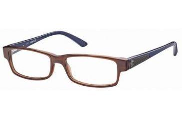 Just Cavalli JC0377 Eyeglass Frames - Shiny Dark Brown Frame Color