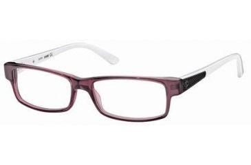 Just Cavalli JC0377 Eyeglass Frames - Shiny Violet Frame Color