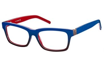 Just Cavalli JC0448 Eyeglass Frames - Blue Frame Color