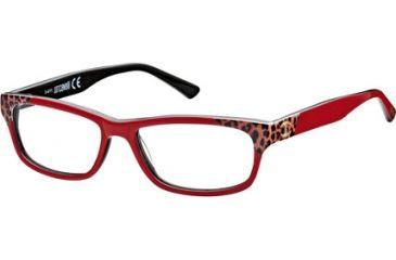 Just Cavalli JC0458 Eyeglass Frames - Red Frame Color