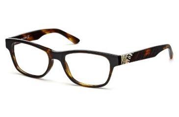 Just Cavalli JC0461 Eyeglass Frames - Dark Havana Frame Color