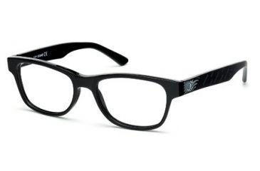 Just Cavalli JC0461 Eyeglass Frames - Shiny Black Frame Color