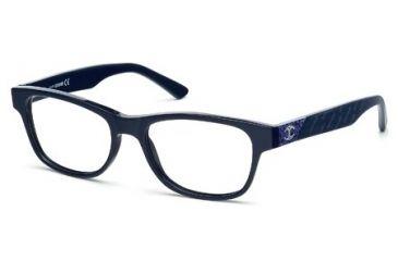 Just Cavalli JC0461 Eyeglass Frames - Shiny Blue Frame Color