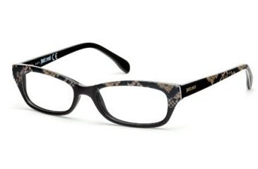 Just Cavalli JC0473 Eyeglass Frames - Black Frame Color