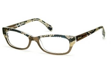 Just Cavalli JC0473 Eyeglass Frames - Light Brown Frame Color