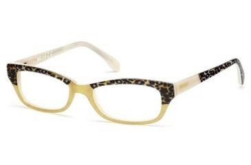 Just Cavalli JC0473 Eyeglass Frames - Yellow Frame Color