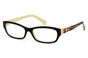 Just Cavalli JC0521 Eyeglass Frames - Havana Frame Color