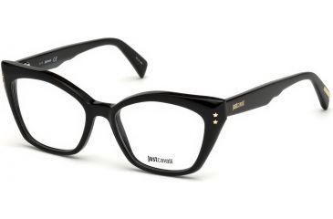 686688947c Just Cavalli JC0809 Eyeglass Frames - Shiny Black Frame Color