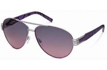 Just Cavalli JC400S Sunglasses - Shiny Palladium Frame Color, Gradient Smoke Lens Color