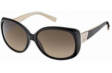 Just Cavalli JC402S Sunglasses - Shiny Black Frame Color, Gradient Smoke Lens Color