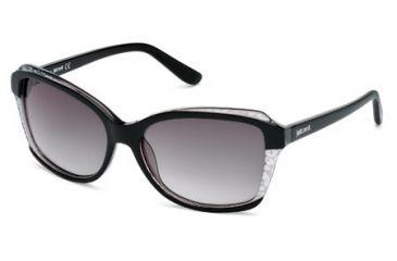 Just Cavalli JC493S Sunglasses - Black/Crystal Frame Color