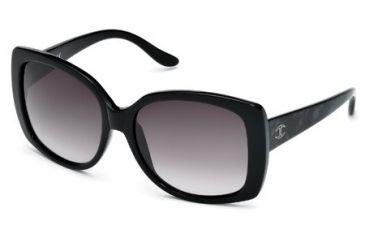 Just Cavalli JC500S Sunglasses - Black Frame Color, Gradient Smoke Lens Color