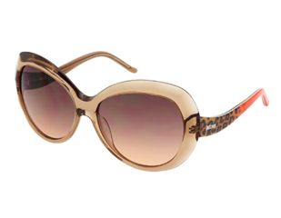 Just Cavalli JC633S Sunglasses - Crystal Frame Color, Gradient Brown Lens Color