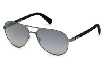 c00b8135d9e6d8 Just Cavalli JC728S Sunglasses - Shiny Gun Metal Frame Color