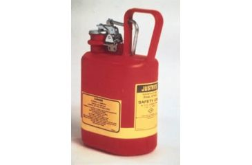 Justrite Type I Nonmetallic Safety Cans, Justrite 14561 Cans With Stainless Steel Fittings
