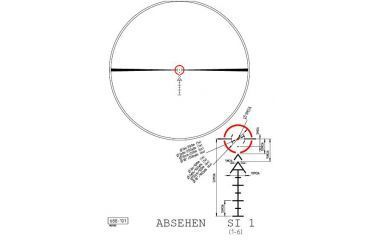 Kahles SI1 Reticle