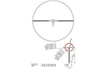 Kahles SM1 Reticle