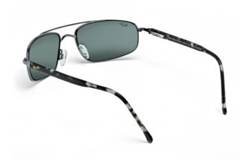 Maui Jim Kahuna Sunglasses w/ Gunmetal Frame and Neutral Grey Lenses - 162-02, Back View