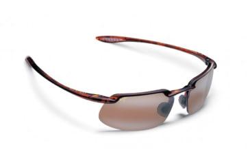 Maui Jim Kanaha Sunglasses w/ Tortoise Frame and HCL Bronze Lenses - H409-10, Quarter View