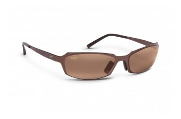 Maui Jim Keiki Sunglasses w/ Copper Frame and Maui Rose Lenses - R213-19, Quarter View