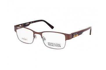 Kenneth Cole KC0747 Eyeglass Frames - Matte Dark Brown Frame Color