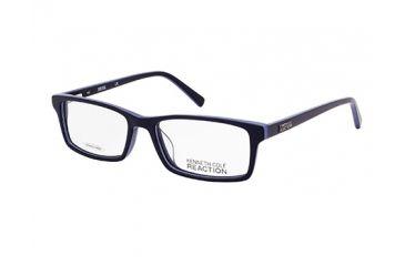 Kenneth Cole KC0749 Eyeglass Frames - Blue Frame Color