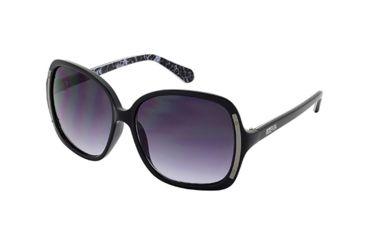 Kenneth Cole KC2723 Sunglasses - Black Frame Color, Gradient Smoke Lens Color