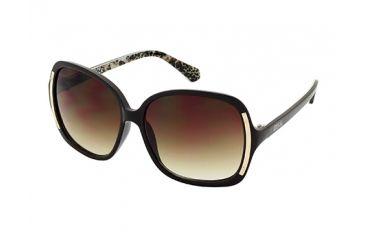 Kenneth Cole KC2723 Sunglasses - Shiny Dark Brown Frame Color, Gradient Brown Lens Color