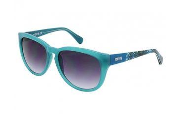 Kenneth Cole KC2730 Sunglasses - Turqoise Frame Color, Gradient Smoke Lens Color