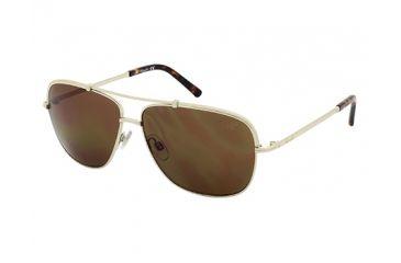 Kenneth Cole KC7121 Sunglasses - Gold Frame Color, Brown Lens Color