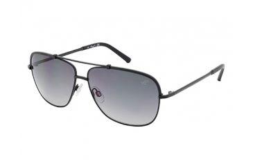 Kenneth Cole KC7121 Sunglasses - Matte Black Frame Color, Gradient Smoke Lens Color
