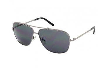 Kenneth Cole KC7121 Sunglasses - Shiny Gunmetal Frame Color, Smoke Lens Color
