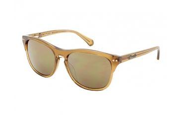 Kenneth Cole KC7134 Sunglasses - Light Brown Frame Color, Brown Mirror Lens Color