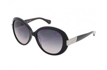 Kenneth Cole KC7138 Sunglasses - Shiny Black Frame Color, Gradient Smoke Lens Color