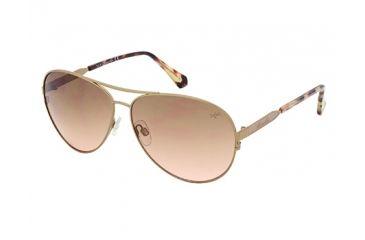 Kenneth Cole KC7158 Sunglasses - Shiny Rose Gold Frame Color, Gradient Brown Lens Color