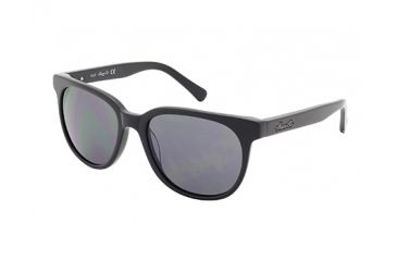Kenneth Cole KC7161 Sunglasses - Shiny Black Frame Color, Smoke Lens Color