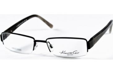 Kenneth Cole New York KC0136 Eyeglass Frames - Matte Black Frame Color