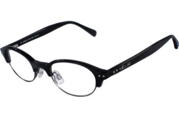 Kenneth Cole New York KC0152 Eyeglass Frames - Shiny Black Frame Color