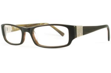Kenneth Cole New York KC0154 Eyeglass Frames - Dark Brown Frame Color