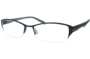 Kenneth Cole New York KC0160 Eyeglass Frames - Matte Black Frame Color
