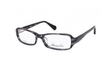 Kenneth Cole New York KC0191 Eyeglass Frames - Black/Crystal Frame Color