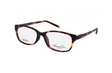 Kenneth Cole New York KC0193 Eyeglass Frames - Dark Havana Frame Color