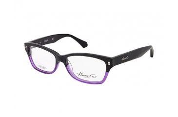 Kenneth Cole New York KC0198 Eyeglass Frames - Black Frame Color